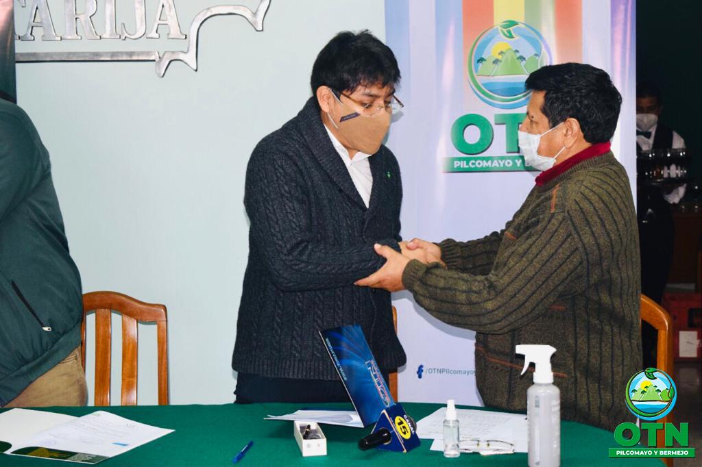 """La OTN-PB concretó la firma de Convenio de Cooperación y Coordinación Interinstitucional con la Sociedad de Ingenieros de Bolivia """"SIB-TARIJA"""""""