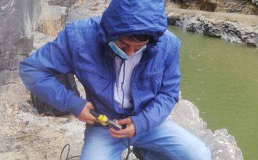 Se realizó la reparación de la estación de calidad de agua del Angosto