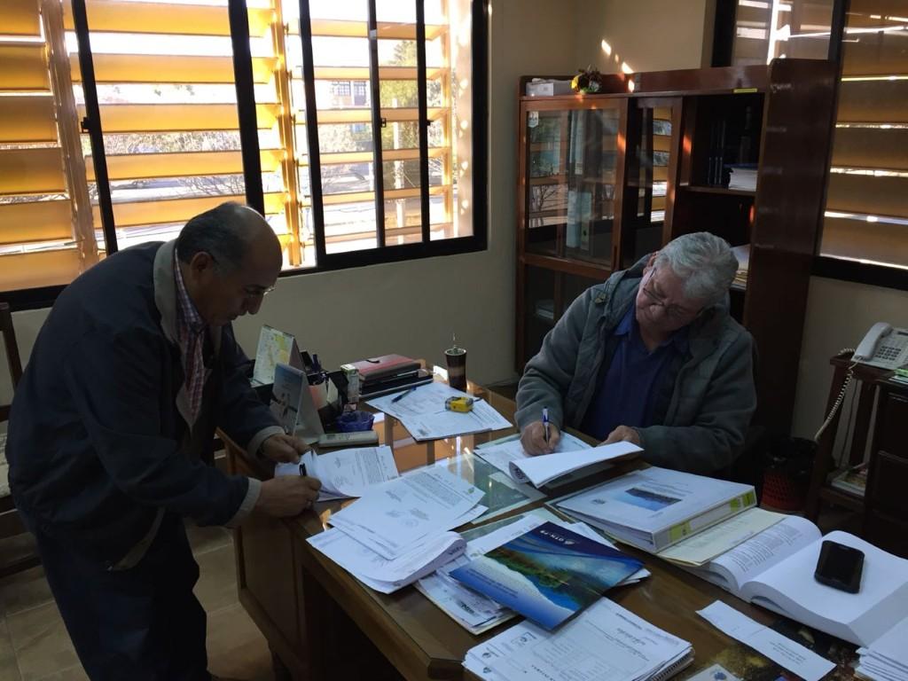 OTN-PB FIRMA DE CONTRATO PARA PROYECTO FORMULACIÓN MANEJO DE ÁRIDOS EN EL MUNICIPIO DE VILLA MONTES
